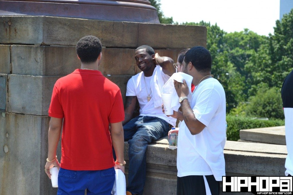 Meek Mill - Amen Ft. Drake (Behind The Scenes Photos)