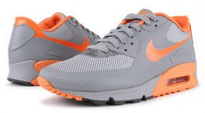 Hyperfuse Air Max 90 (Stealth/Total Orange) Drop Today via @eldorado2452 & @GetLiftedMedia