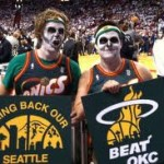 SonicsGate: Zombie SuperSonics Fans Rooting for Miami in the Finals via @eldorado2452 & @GetLiftedMedia