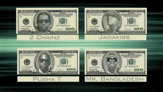 Bangladesh – 100 Ft. Jadakiss, 2 Chainz and Pusha T