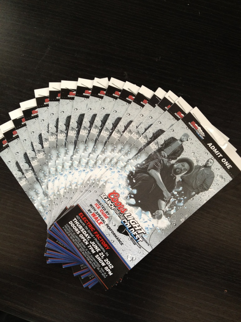 Enter To Win 2 Tickets To See Wale Perform Live at The Electric Factory June 21st