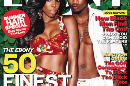 Kelly Rowland & Trey Songz cover Ebony's Sexy Issue