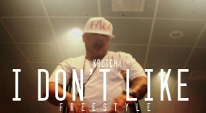 Krutch (@KrutchC4) &#8211; I Dont Like Freestyle (In-Studio Video)