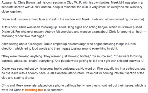 Meek Mill and Chris Brown Squash Their Beef On Twitter