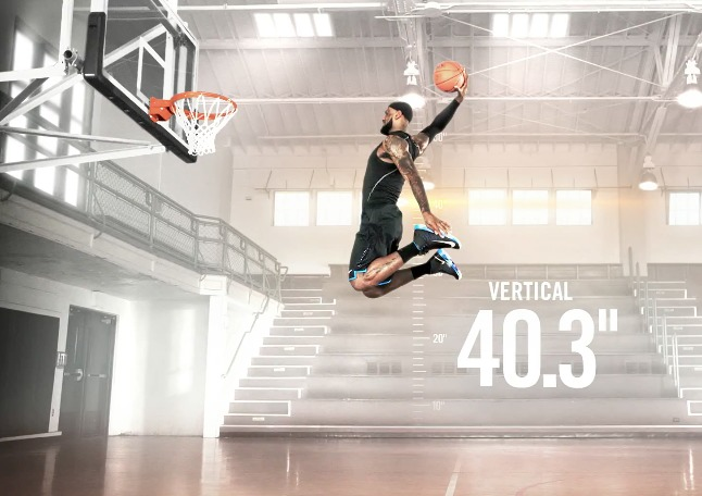Nike Lebron James Basketball Commercial Track Your Vertical Quickness Amp More Video Home