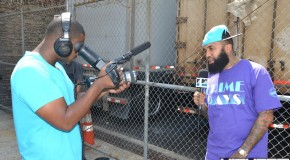 @MTV Mixtape Daily with @ToneTrump (Behind The Scenes Photos)