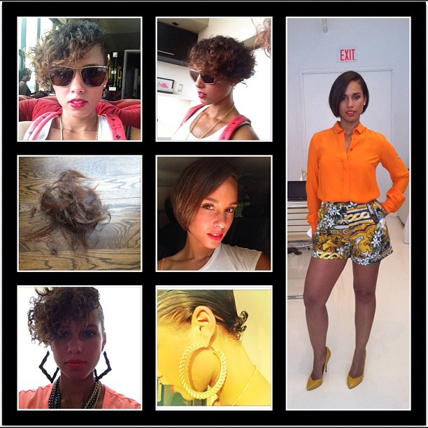 Alicia Keys Cuts Her Hair (Photos Inside)