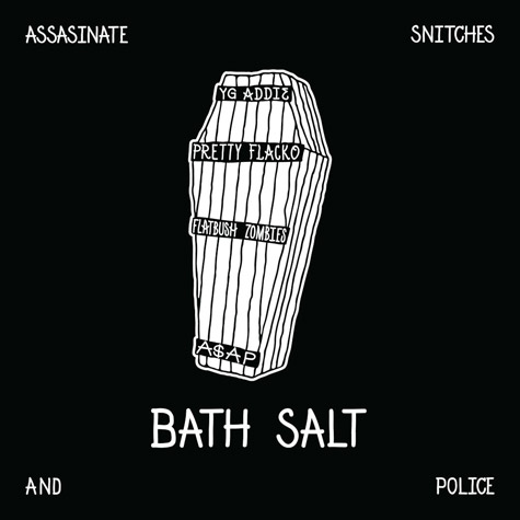 "ASAP Rocky Announces ASAP Mob Single ""Bath Salt"" Releasing at Midnight"