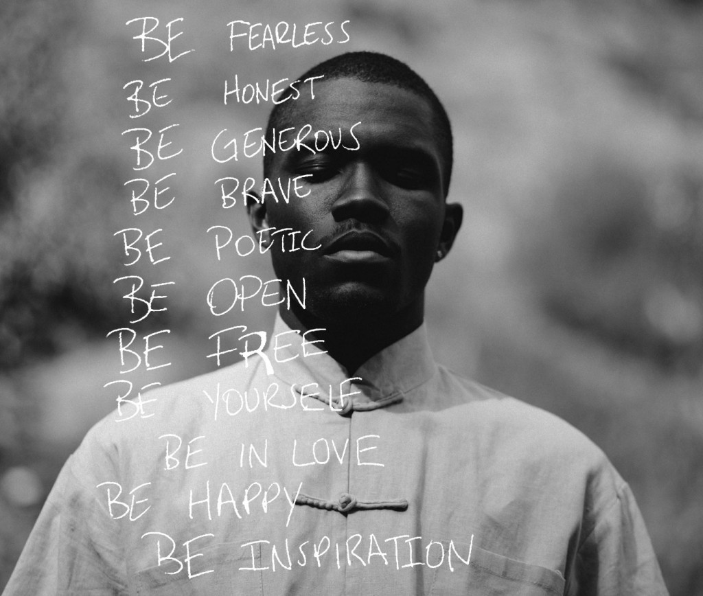 Beyoncé Shows Support For Frank Ocean