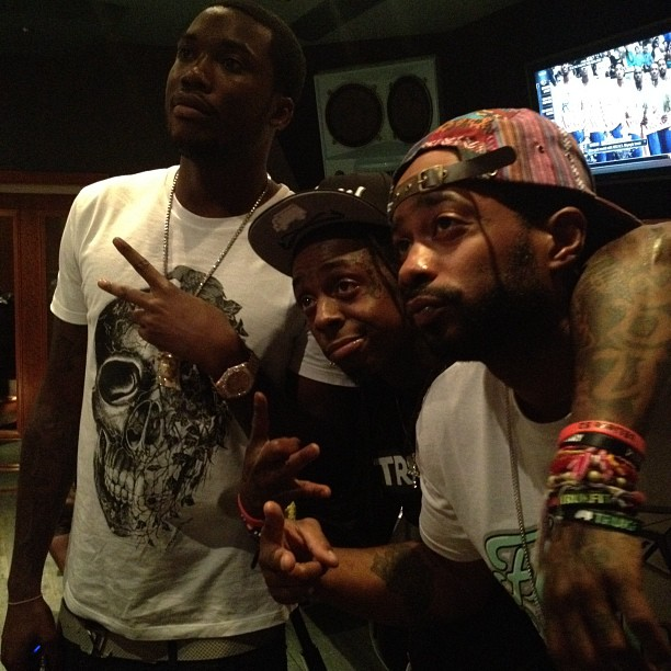 "Meek Mill x Lil Wayne ""Burn"" (Remix) in the works???"