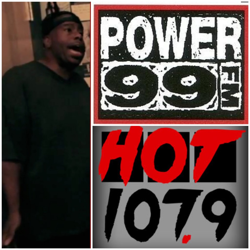 "Power 99 DJ Cosmic Kev calls Hot107.9 A ""Walmart Station"" and ""College Radio"" (Video)"