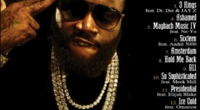 Rick Ross Confirms His God Forgives, I Don&#039;t (Album Tracklist)