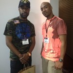 Ish and Datwon Thomas (Executive Editor at VIBE Magazine)