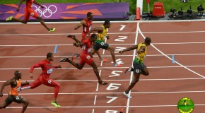 2012 London Olympics 100m Final (Video)