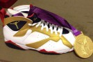 Chris Paul&#039;s Air Jordan 7 Gold Medal Gift