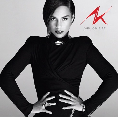 Alicia Keys - Girl On Fire (Album Cover)