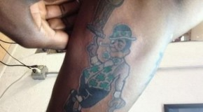 Jason Terry's New Leprechaun Tattoo