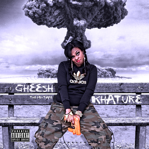khature gheesh mixtape front cover HHS1987 2012 Khature (@Khature)   Gheesh (Mixtape)