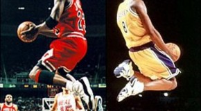 Kobe Bryant vs Michael Jordan (Identical Highlights) (Video)
