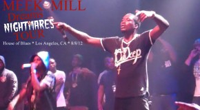 Meek Mill Dreams and Nightmares Tour Live in Los Angeles (LA) (Video)