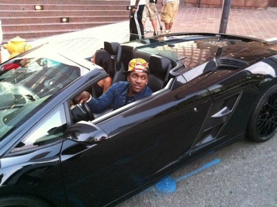 photo of Lil' Jon Lamborghini - car