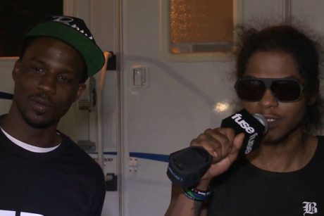 Black Hippy members talk Kendrick Lamar, Lady Gaga and Slaughterhouse collab at Rock The Bells 2012 (Video)