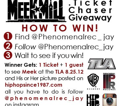 Win Tickets To See Meek Mill Live at the TLA August 25th in Philly via @JPhenomenalRec