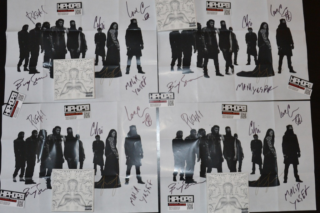 G.O.O.D. Music In Store NYC September 18 2012 HHS1987 20 WIN an Autographed G.O.O.D. Music   Cruel Summer CD via HHS1987