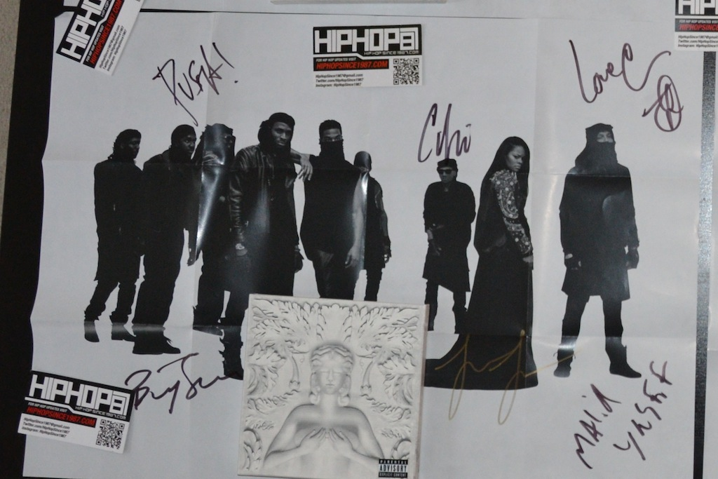 G.O.O.D. Music In Store NYC September 18 2012 HHS1987 21 WIN an Autographed G.O.O.D. Music   Cruel Summer CD via HHS1987