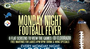 (#Atlanta) The Topic Of Discussion Presents: Monday Night Football Fever @BarOneATL