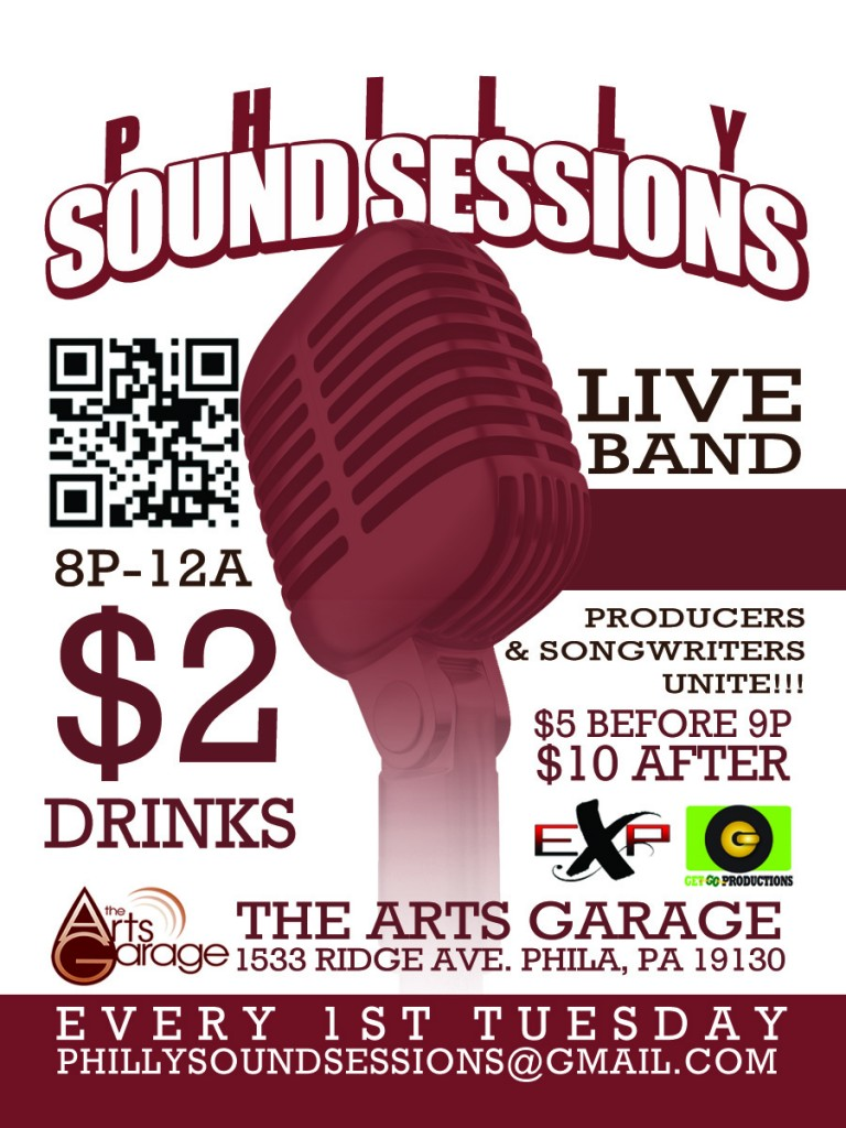PSS-Standard-768x1024 #PhillySoundSessions Oct 2nd @TheArtsGarage Hosted by @SONGWRITASMARIE Feat @YufiZewdu @VixionAllure