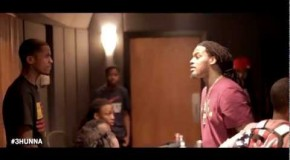 Lil Reese (@LilReese300) & Waka Flocka (@WakaFlockaBSM) (@PatchwerkStudio Session) (Video)