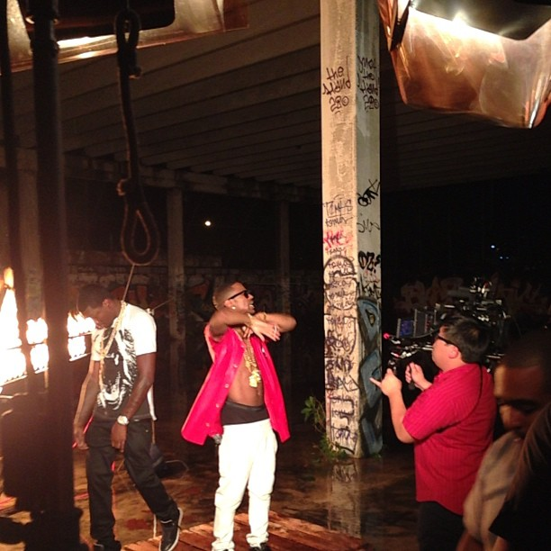 Behind The Scenes Photos: Meek Mill x Big Sean - Burn (Video Shoot)