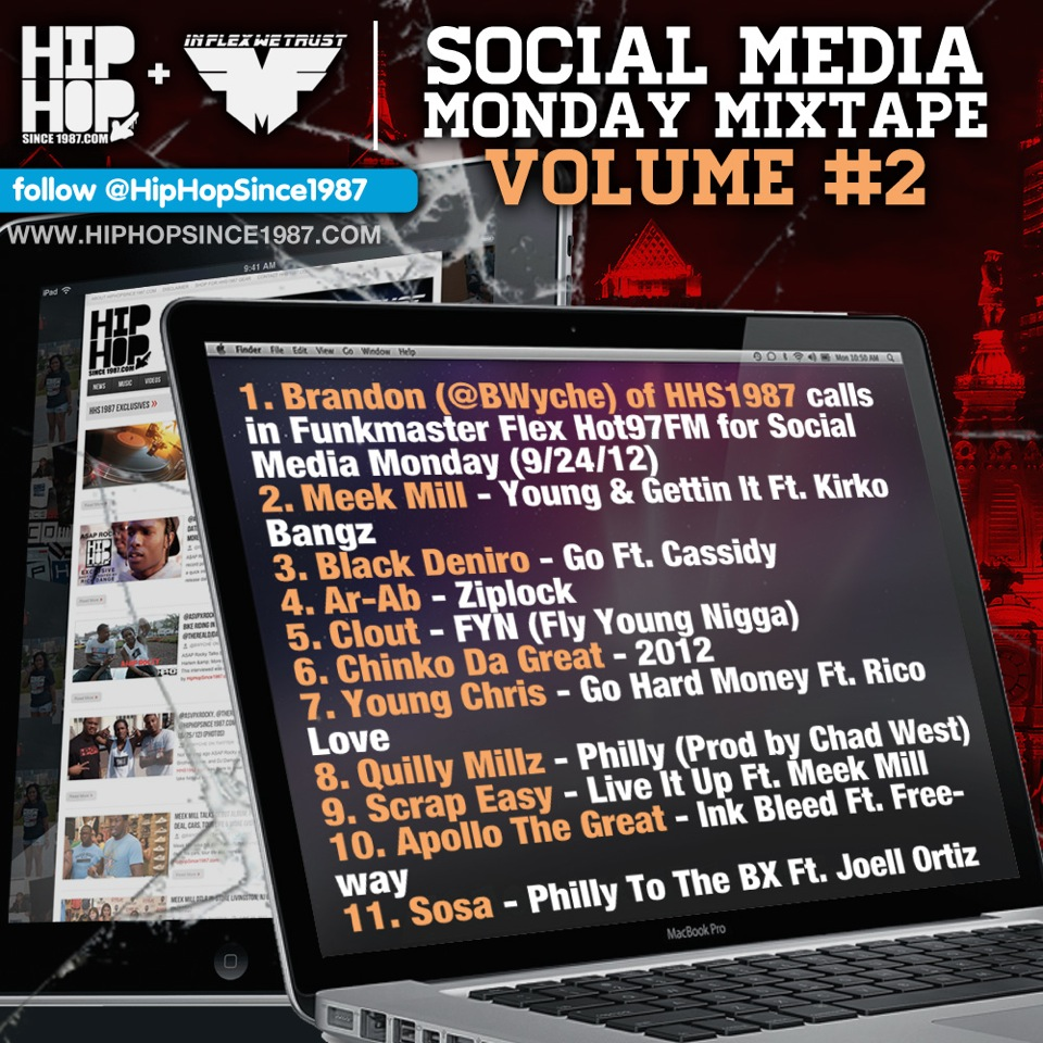 BWyche of HHS1987 on Funkmaster Flex Social Media Monday (9/24/12)