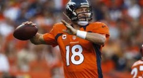 Broncos' QB Manning Joins The 400 Club