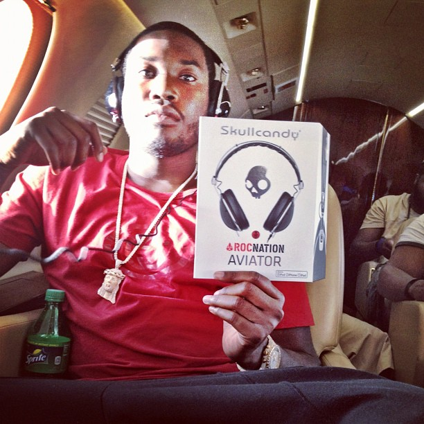 Meek Mill Signs Headphone Deal With Skull Candy