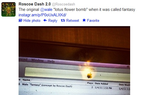 "Roscoe Dash Upset About Not Getting Credit For ""Lotus Flower Bomb"" and Meek Mill Responds"