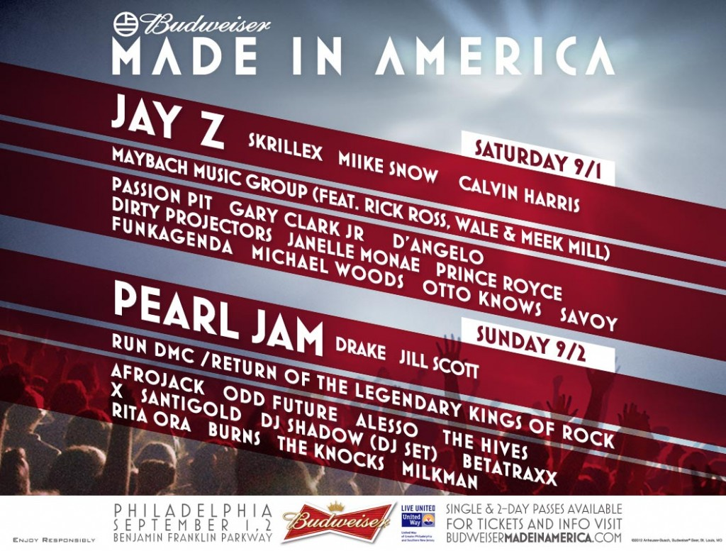 Watch Made In America Festival (LIVE STREAM) (VIDEO INSIDE)