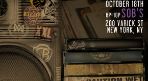 [WATCH LIVE] Cinematic Music Group Showcase Oct. 18th @ SOB&#8217;s