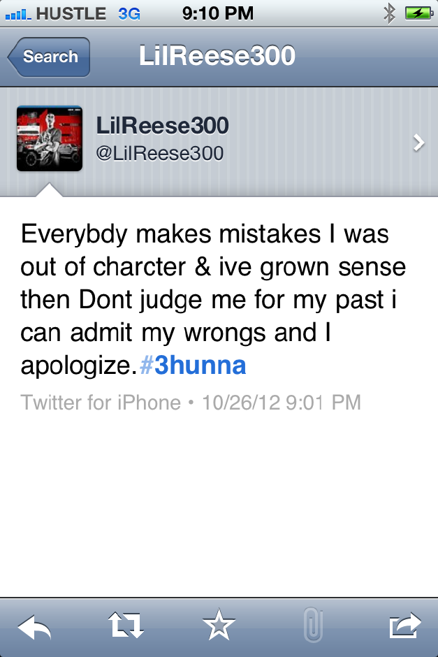 LilReese.jpeg Lil Reese (@LilReese300) Takes To Twitter To Clear To The Air About Recent Drama