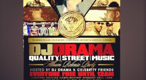 DJ Drama – Street Quality Music NYC Album Release Concert (Video)