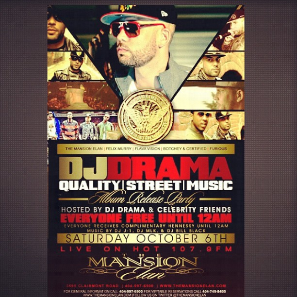 DJ Drama - Street Quality Music NYC Album Release Concert (Video)