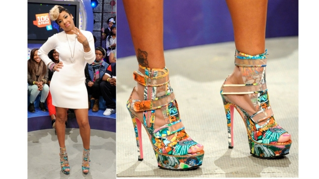Take A Walk In My Shoes....Keyshia Cole designs for Steve Madden