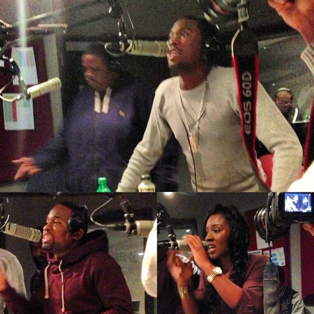 Meek Mill's Dream Chasers Records Power 99 Freestyle (Video)