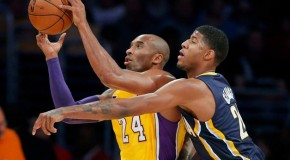 George Hill And The Indiana Pacers Spoil Kobe's 40 Point Performance