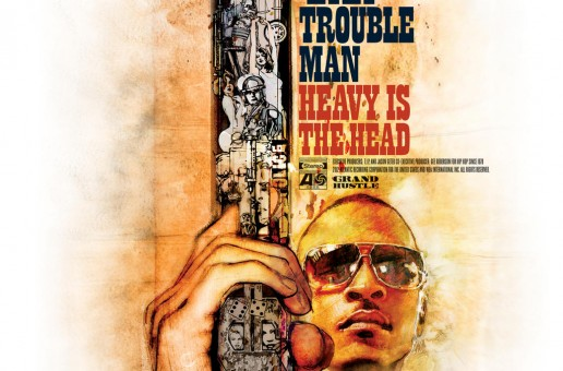 T.I- Trouble Man Album Cover & Track List