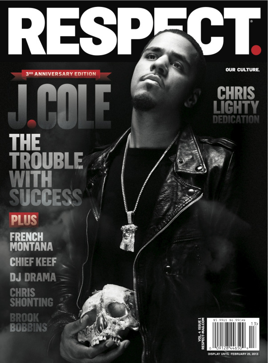 Elliott Wilson Announces J. Cole On The Cover of Respect Magazine