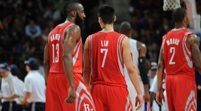 Houston Rockets Bearded Star Harden&#039;s 45 Point Encore