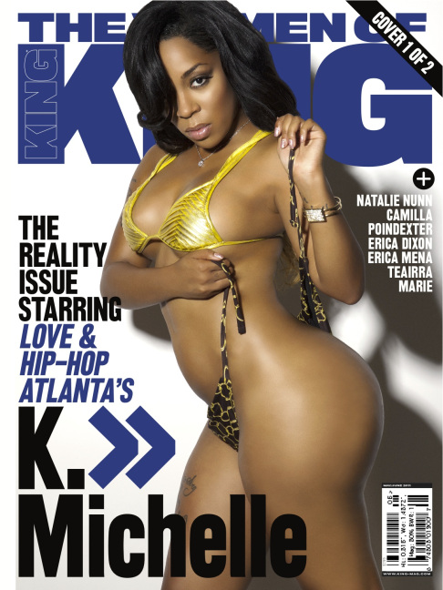 K. Michelle Covers King Magazine and Signs To Warner Brothers Records (Video)