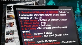BWyche of HHS1987 on Funkmaster Flex&#039;s Social Media Monday (11/12/12)